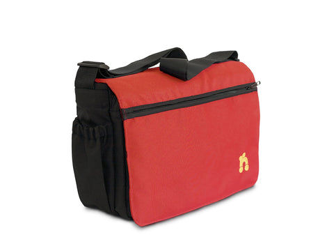 Out n About Changing Bag - Carnival Red