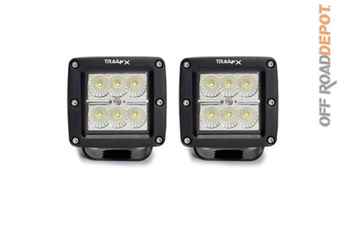"Faros 6"" LED 18w Cube Driving"