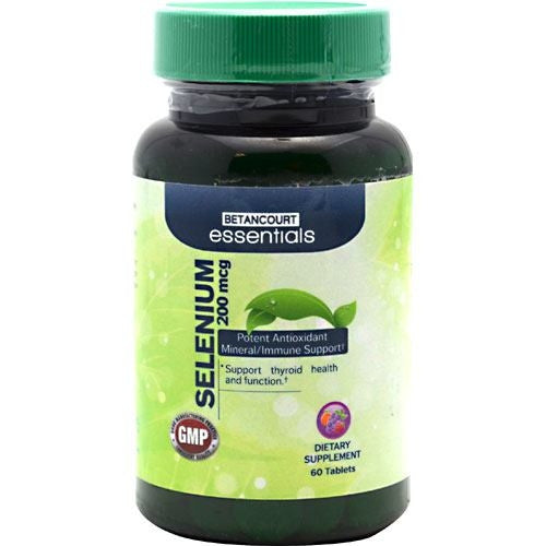 Betancourt Nutrition Betancourt Essentials Selenium - Supps360.com