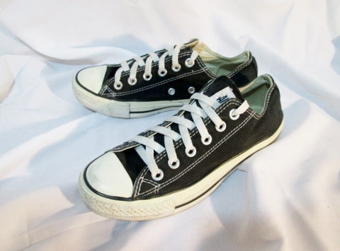CONVERSE ALL STAR CHUCKS Chuck Taylor Sneaker Trainer Athletic Sports BLACK 5 / 7 Shoe