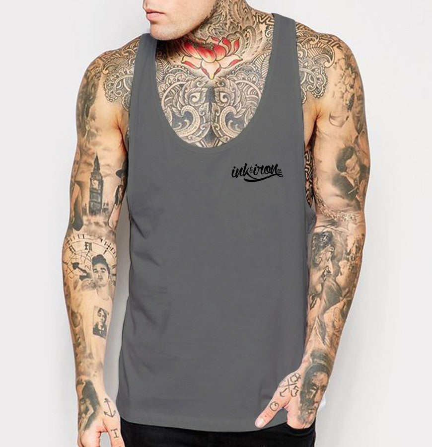 Branded Small - Mens Tank Top - Ink and Iron co.