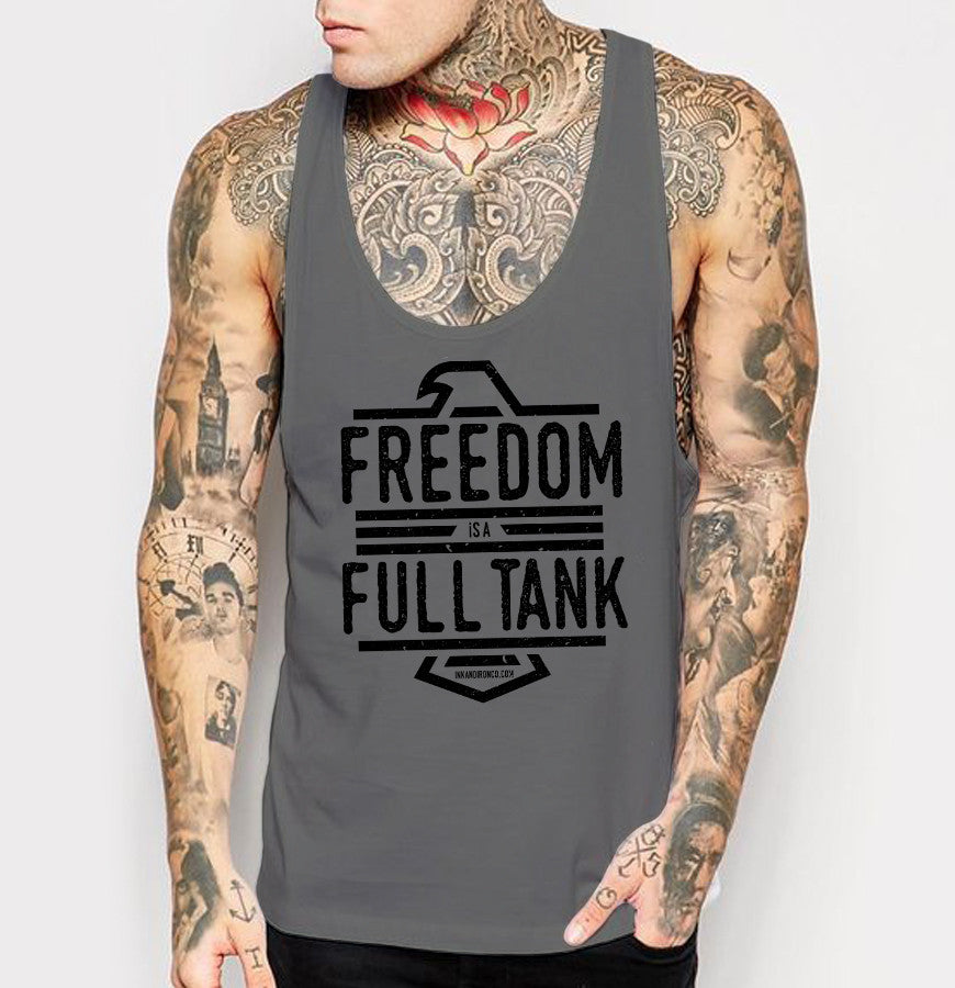 Freedom - Mens Tank Top - Ink and Iron co.