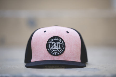 A salty salmon hat