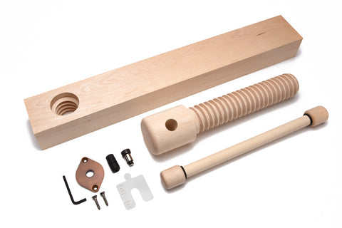 Lake Erie Toolworks - Wood Wagon Vise Standard Kit with Extended Nut option