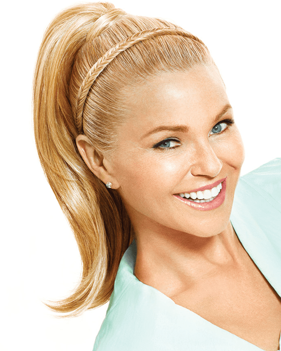 Christie Brinkley Fishtail Headband - MaxWigs