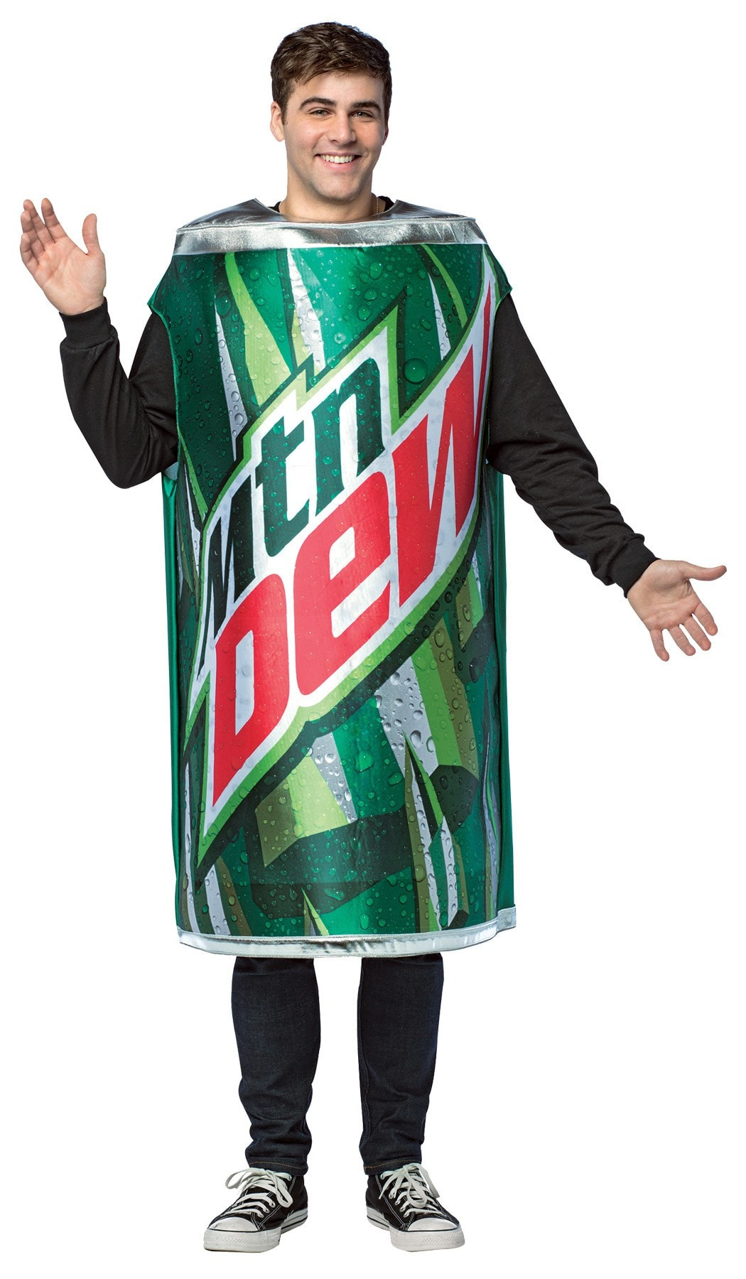 Morris Mountain Dew Get Real Can - MaxWigs