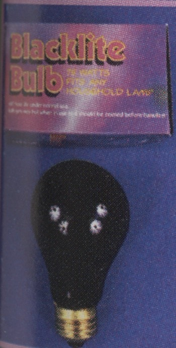 Morris Blacklight Bulb 75 Watts - MaxWigs