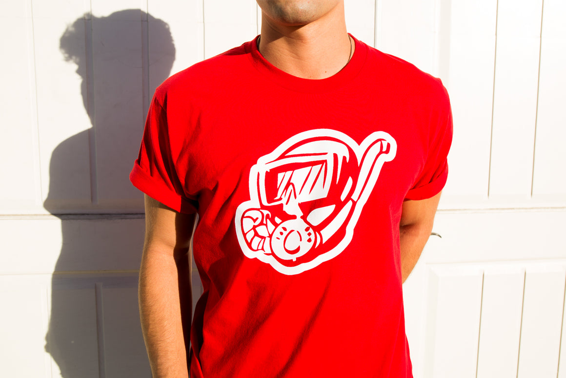 DIPPED® Red Scuba Tee