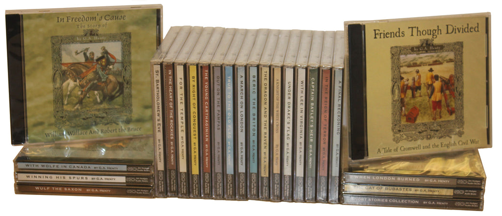 Complete Set of G. A. Henty Audio Books by Jim Hodges