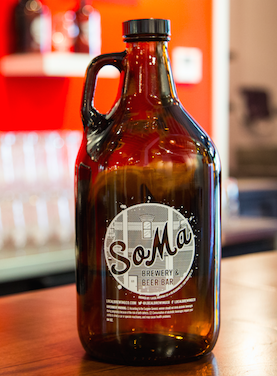 Local Glass Growler (64oz)