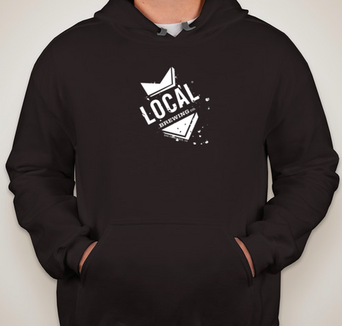 Local Pullover Hoodie (Black)