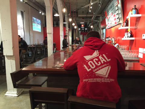 Local Pullover Hoodie (Red)