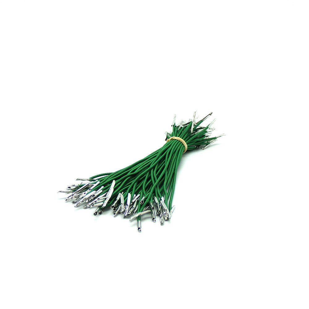 Barbed Elastic Medium Weight Green Cord