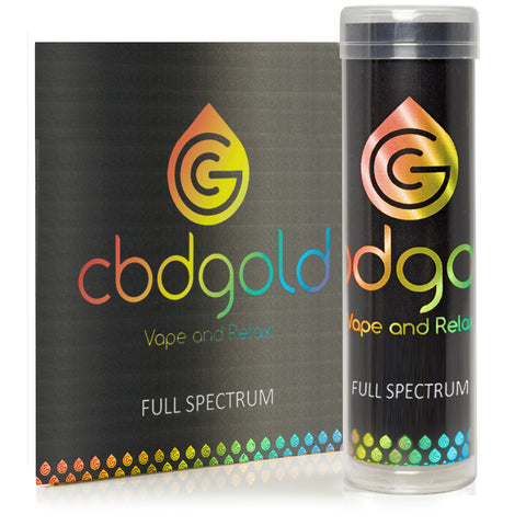 Full Spectrum +CBD 100 - CBD Gold