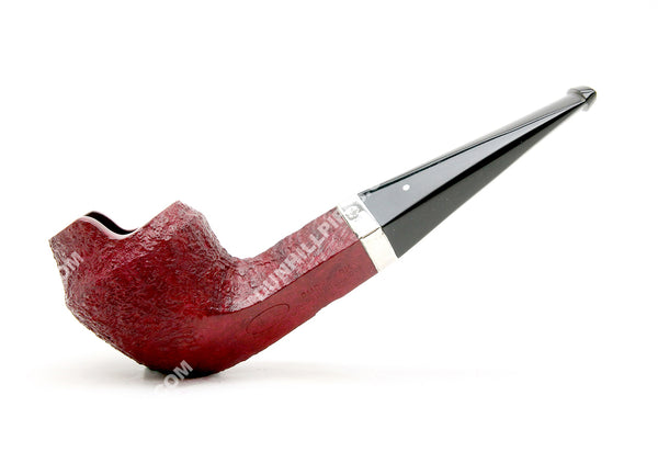 Dunhill Ruby Bark Sterling Group 4 Pipe #4104B