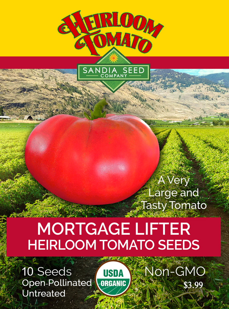 Tomato - Mortgage Lifter Heirloom Seeds - Sandia Seed Company