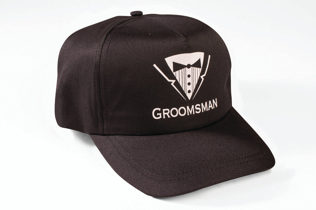 Bachelor Hat - Groomsman - Red Top Box