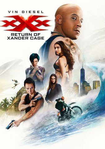 XXX: The Return of Xander Cage UVHDX