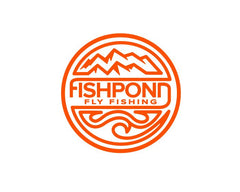 Fishpond Sticker - Headwaters Die Cut 4.5""