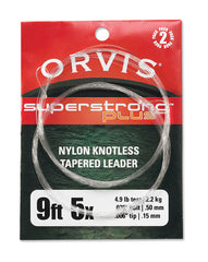 Orvis Super Strong Plus Leaders 2pk