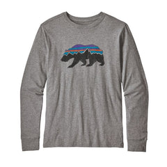 Patagonia Boy's Long Sleeve Graphic Organic T-Shirt