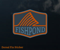 Fishpond Sticker - Dorsal Fin 4""