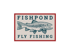 Fishpond Sticker -Las Pampas 6""
