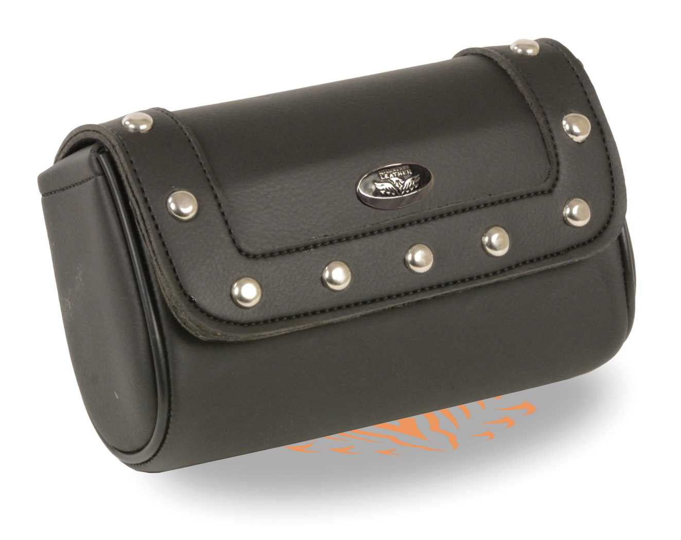 PVC SMALL RIVETED TOOL BAG W/ VELCRO CLOSURE