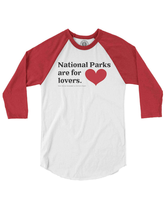 National Parks are for Lover Raglan | Parks Project | Vintage National Park Shirt