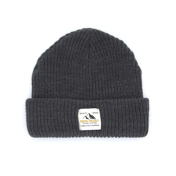 Quality Goods Charcoal Beanie | Parks Project | National Park Gifts