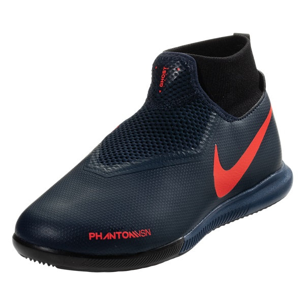 Nike Youth Phantom Vision Academy IC Indoor Shoes (Obsidian Blue)