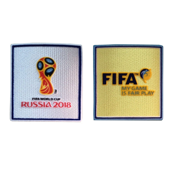 Fifa World Cup Patches 2018 (Pair)