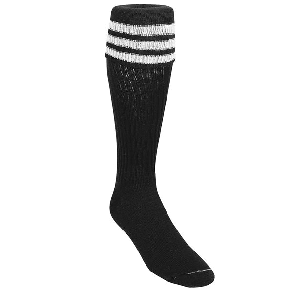 Kwik Goal Referee Soccer Socks (Black/White)
