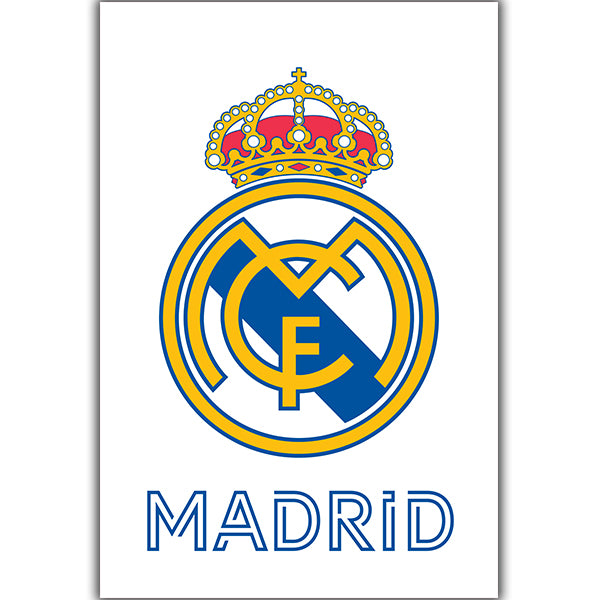 Real Madrid Crest Poster