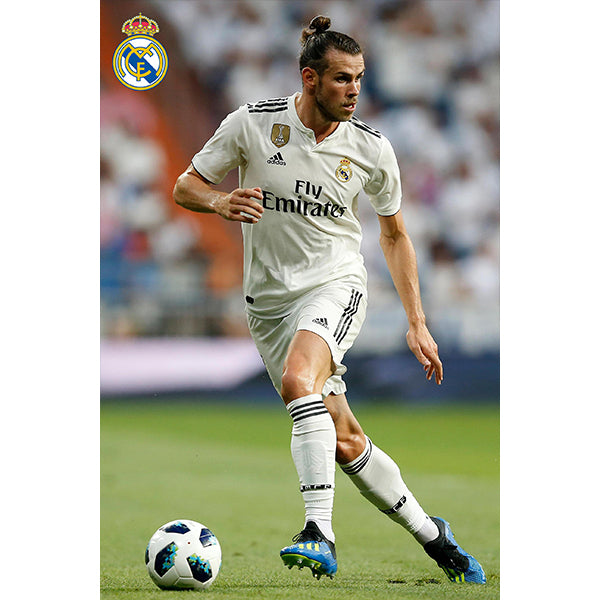 Real Madrid Bale Home Poster