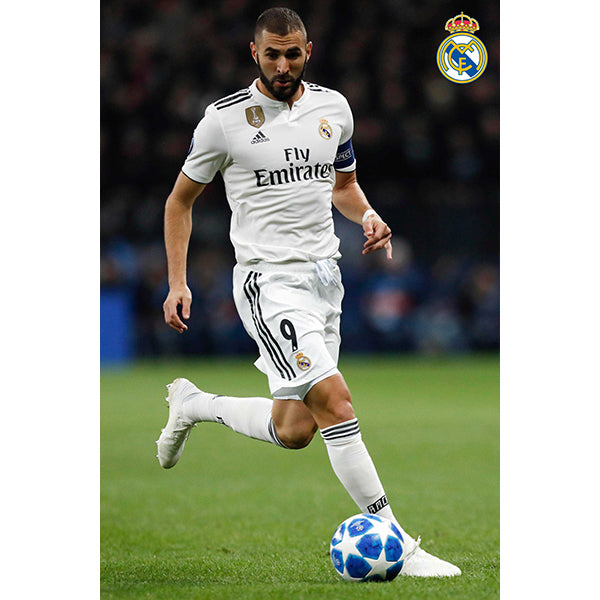 Real Madrid Benzema Poster