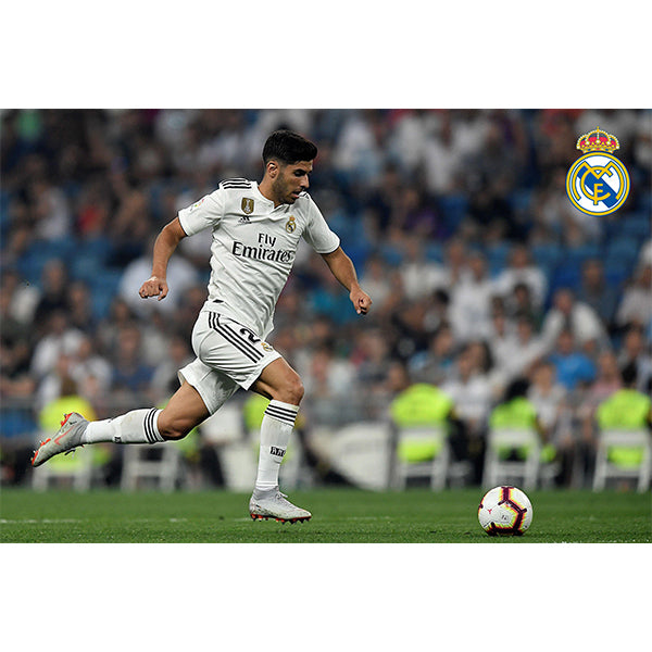 Real Madrid Asensio Poster