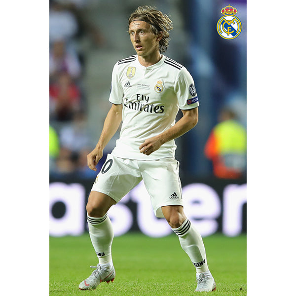 Real Madrid Modric Poster