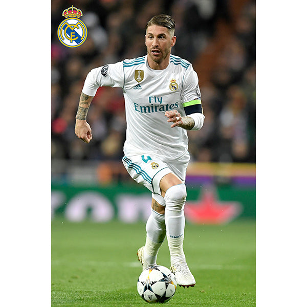 Real Madrid Ramos Poster