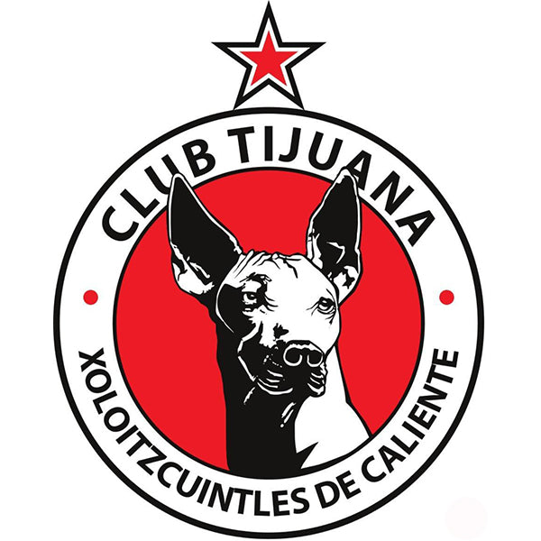 Club Tijuana Xolos Decal (4x4 inches)