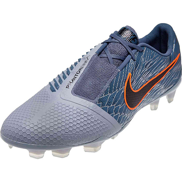 Nike Phantom Venom Elite FG Victory Pack Soccer Cleats (Armyory Blue/Orange)