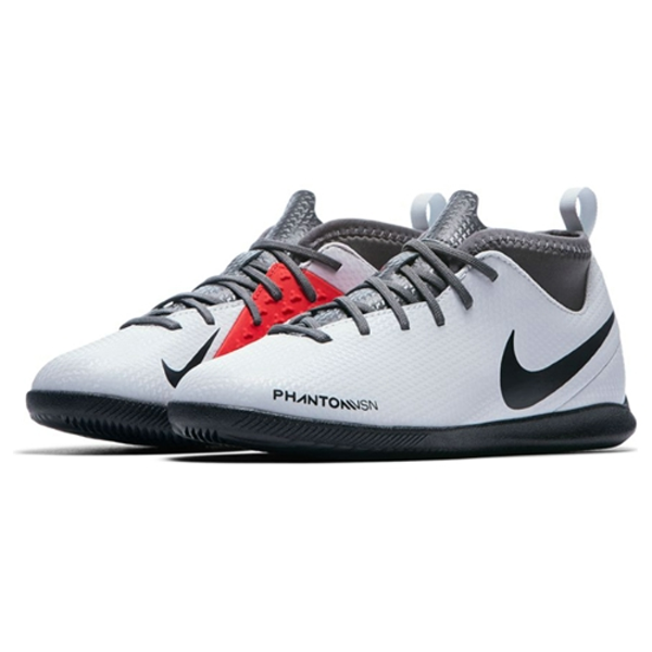Nike Jr. Phantom Vision Club IC (Pure Platinum)