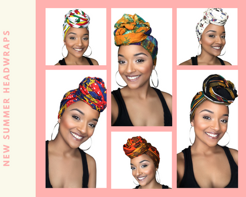 She is Royalty Head wrap collection
