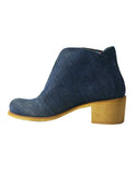 recycled denim boots summer vegan