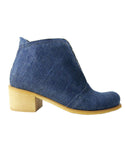 stivaletto estivo in jeans denim