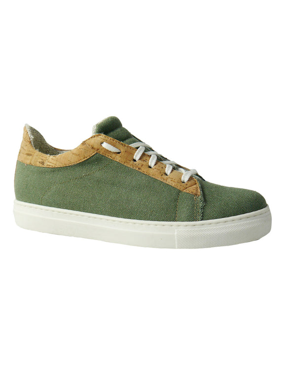 hemp green vegan sneakers BellaStoria