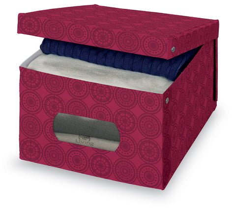 DomoPak Large Garment Box Ella Purple
