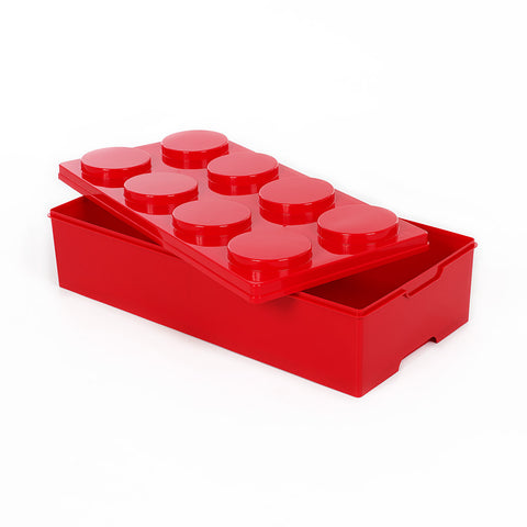 Storeasy Junior Building Block Stackable Storage Box 28Ltr Red