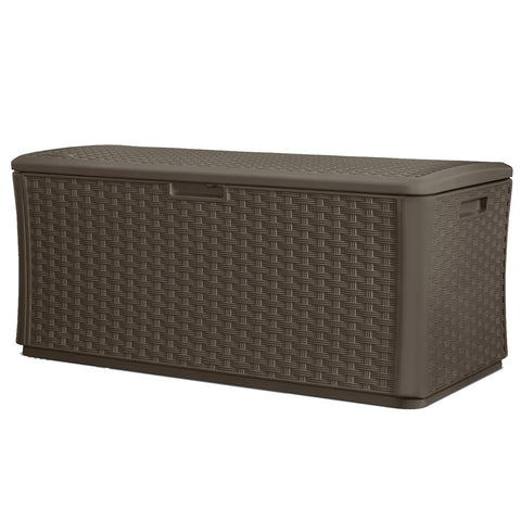 Suncast 507 Litre Wicker Deck Box