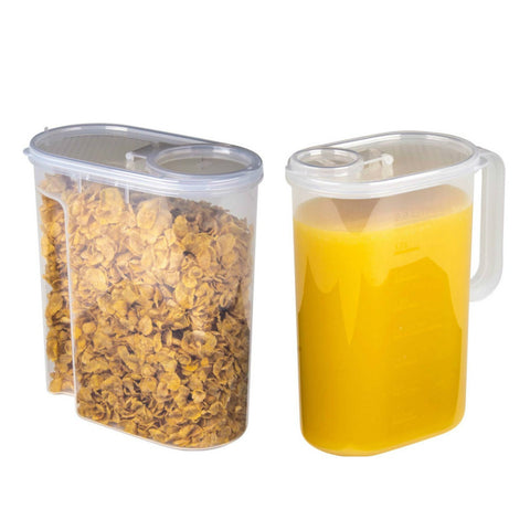 Breakfast Set x1 Cereal Dry Food Container